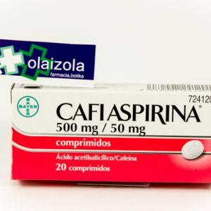 Cafiaspirina (500/50 mg 20 comprimidos)