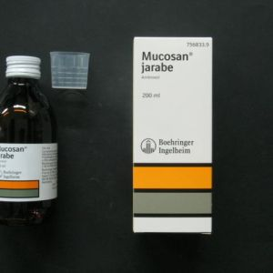 Mucosan pediatrico (15 mg/5 ml jarabe 200 ml)