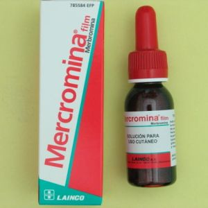 Mercromina film lainco (2% solucion topica 30 ml)