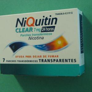 Niquitin clear (7 mg/24 h 7 parches transdermicos 36 mg)