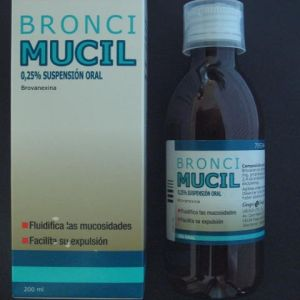 Broncimucil (12.5 mg/5 ml suspension oral 200 ml)