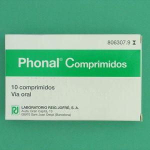 Phonal (10 comprimidos para chupar)
