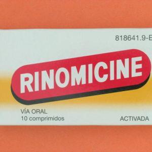 Rinomicine activada (10 comprimidos)