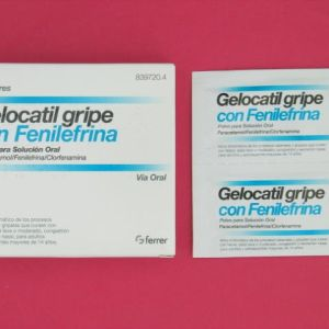 Gelocatil gripe fenilefrina (10 sobres)