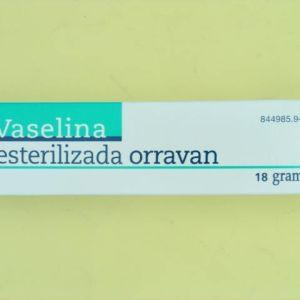 Vaselina esteril orravan (100% pomada 18 g)