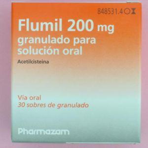 Flumil (200 mg 30 sobres granulado)
