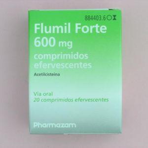 Flumil forte (600 mg 20 comprimidos efervescentes)