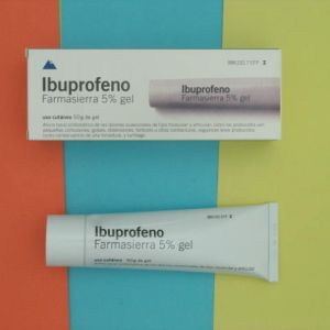 Ibuprofeno farmasierra (5% gel topico 50 g)
