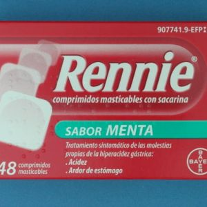 Rennie (48 comprimidos masticables c/ sacarina)