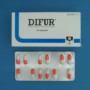 Difur (120 mg 24 capsulas)