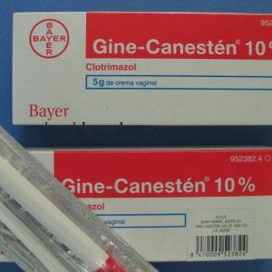 Gine canesten (10% crema vaginal 5 g)