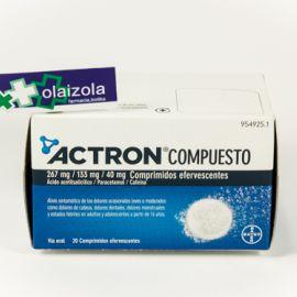 Actron compuesto (20 comprimidos efervescentes)