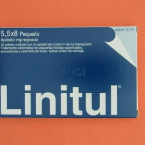 Linitul (10 apositos monodosis 5.5 x 8 cm)