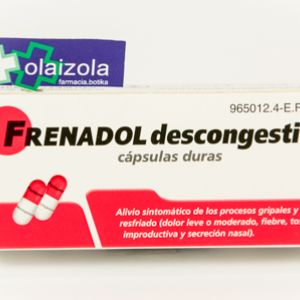 Frenadol descongestivo (16 capsulas)