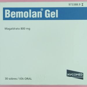 Bemolan (800 mg gel 30 sobres)
