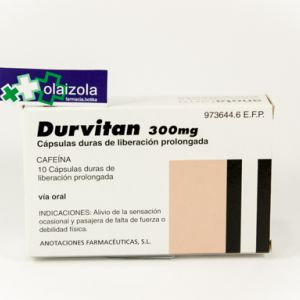 Durvitan retard (300 mg 10 capsulas liberacion prolongada)