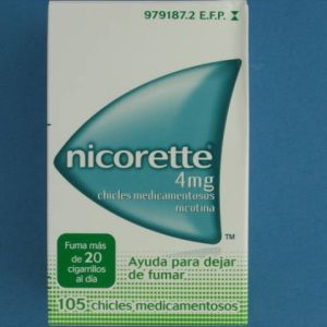 Nicorette (4 mg 105 chicles)