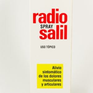 Radio salil spray (aerosol topico 130 ml)