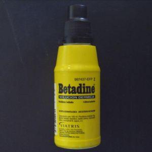 Betadine (10% solucion topica 1 frasco 125 ml)