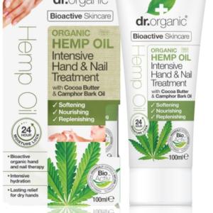 Dr. Organic Hemp Oil Intensive Hand & Nail Treatment 100ml