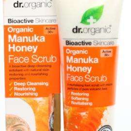 Dr. Organic Manuka Honey Face Scrub 125ml