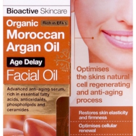 Dr. Organic Maroccan Argán Facial Oil 30ml