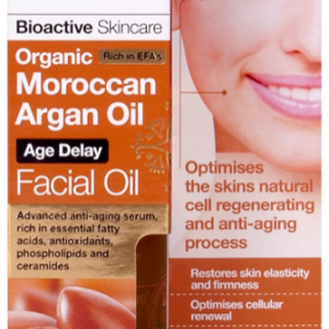 Dr. Organic Maroccan Argán Facial Oil 30ml
