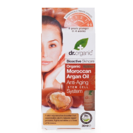 Dr. Organic Moroccan Argán Oil Stem Cell Anti-Aging System 30ml