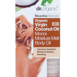 Dr. Organic Monoi Virgin Coconut Oil Moisture Melt Body Oil 100ml