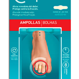 Compeed ampollas hidrocoloide dedos pies 8 un