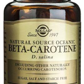 Solgar beta caroteno 100% natural 60 tabletas