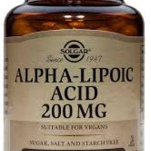 Solgar Ácido Alfa Lipoico 60 mg 30 cápsulas vegetales