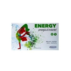 Homeosor Energy Jalea Real 20 viales de 10 ML