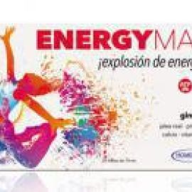 Homeosor Energy max jalea real 20 viales