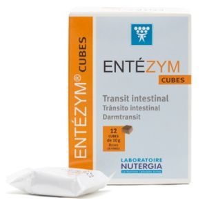 Nutergia Entezym Masticable caja 12 cubos