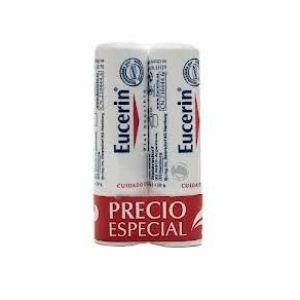 Eucerin protector labial duplo 2x 4,8 g