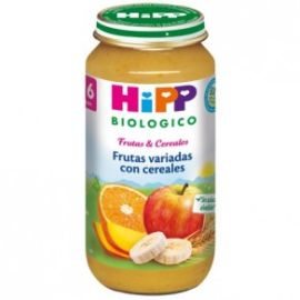 Hipp Biologico frutas variadas con cereales 250g