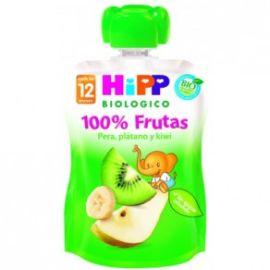 Hipp Pouche pera, plátano y kiwi 90 g