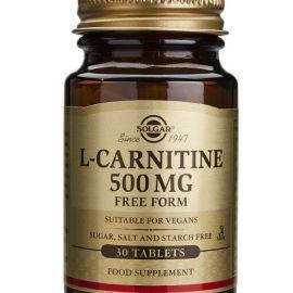 Solgar L-Carnitina 500 mg 30 tabletas