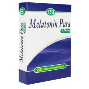ESI Melatonin Pura 1,9 mg 60 tabletas