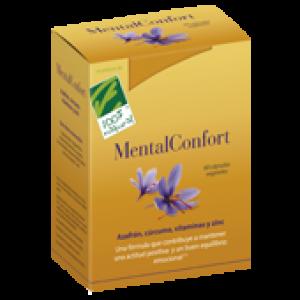 Cien por Cien Natural Mental Confort 30 cápsulas vegetales