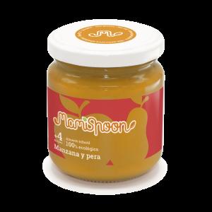 MamiSpoon Potito ecológico de Manzana y Pera 180g