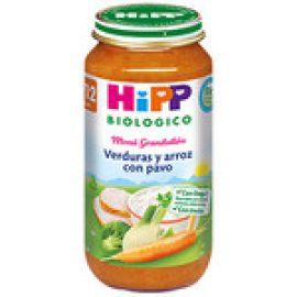 Hipp potito verduras y arroz con pavo 250g