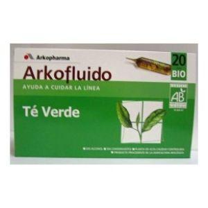 Te Verde Arkopharma 20 ampollas bebibles