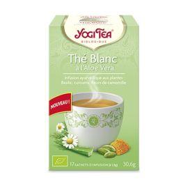 Yogi tea blanco con aloe vera bio