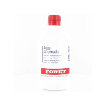 Agua oxigenada foret (10 volumenes )