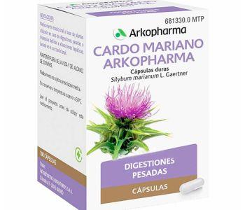 Arkocápsulas cardo mariano (300 mg)