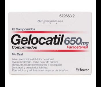 Gelocatil (650 mg)