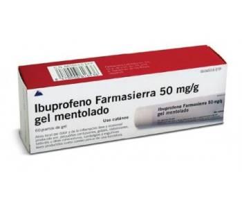 Ibuprofeno farmasierra (5%)