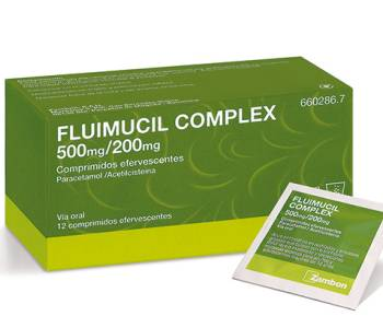 Fluimucil complex 500/200 mg
